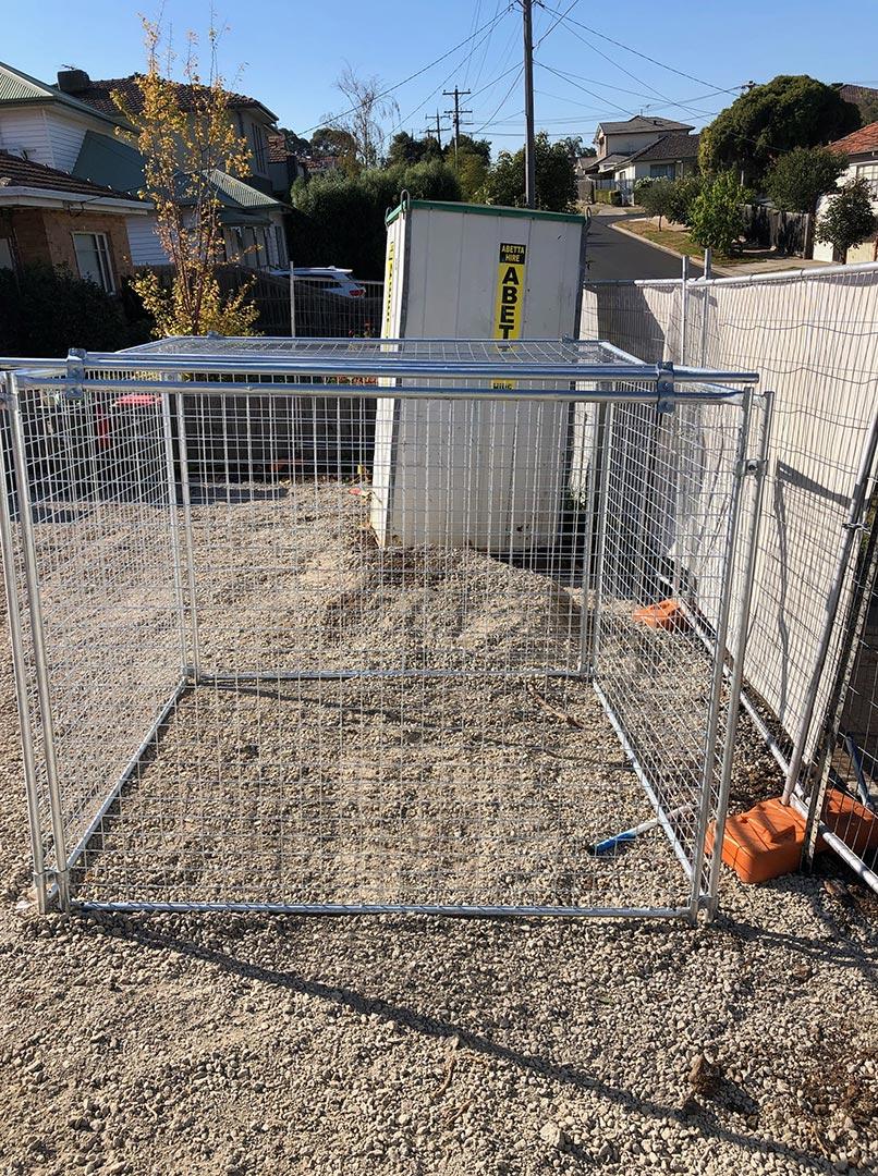 rubbish cage melbourne